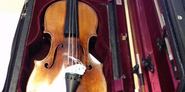 Gestolen Stradivarius is terecht