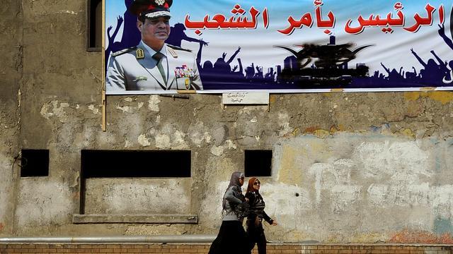 'Egyptische president Sisi betreurt veroordeling journalisten'