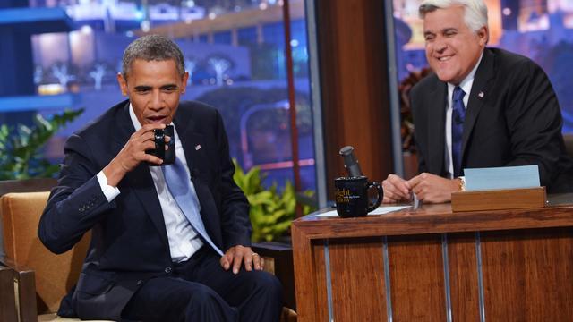 Jay Leno presenteert laatste Tonight Show