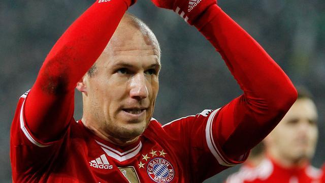 'Robben dicht bij akkoord met Bayern over nieuw contract'