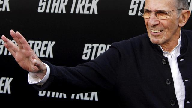 Mr. Spock-acteur Leonard Nimoy vecht tegen COPD