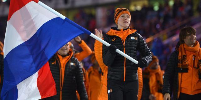 Nederlandse sporters enthousiast over ceremonie