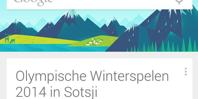 Google Now krijgt Olympische cards