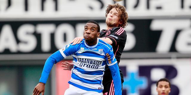 Puntenverlies koploper Ajax bij PEC Zwolle