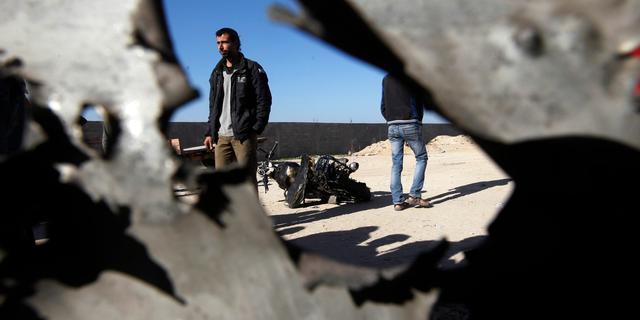 Israëlische luchtaanval op Gaza na raketbeschieting