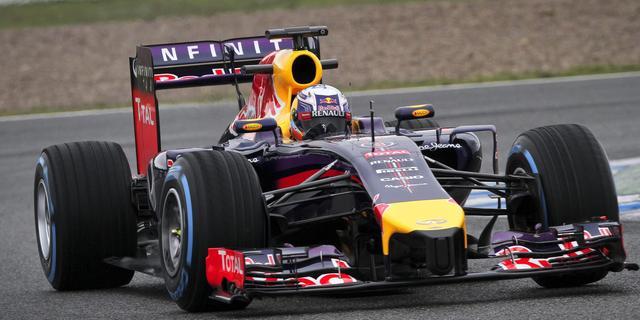 Oververhitte wagen baart Red Bull geen zorgen