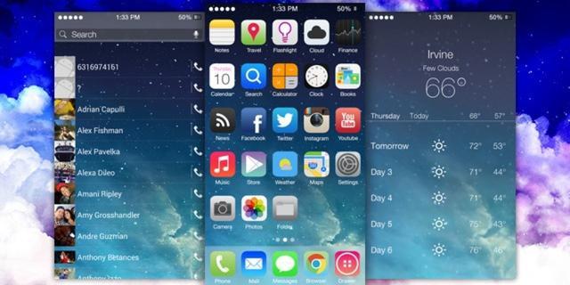 Android-skin Themer verwijderd na klacht Apple