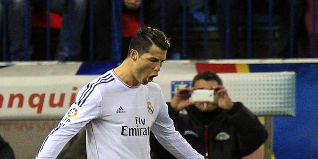 Real Madrid naar finale Spaans bekertoernooi
