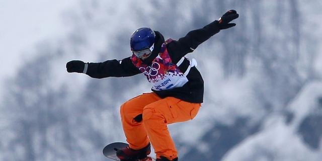 Snowboarders De Jong en Van der Wal uitgeschakeld