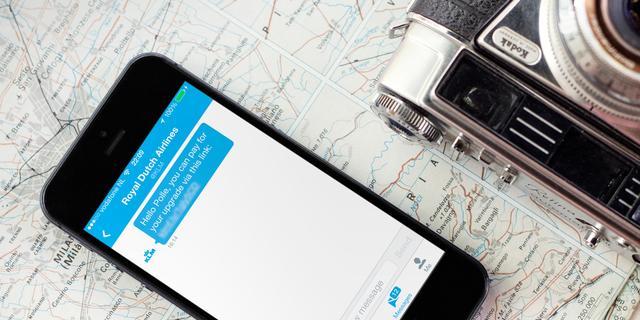 KLM maakt betalen via sociale media mogelijk