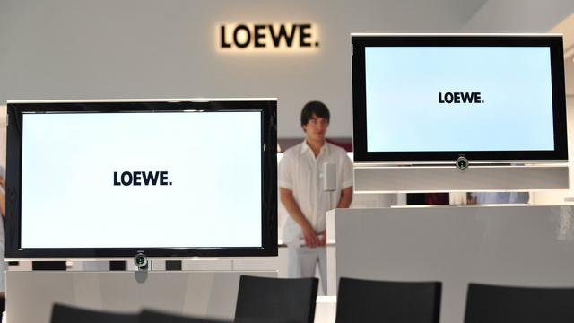 'Tv-fabrikant Loewe wordt winstgevend'