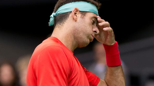 Del Potro afwezig in Indian Wells door polsblessure