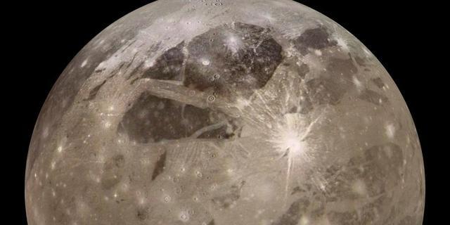 Grote inslag op de maan gezien