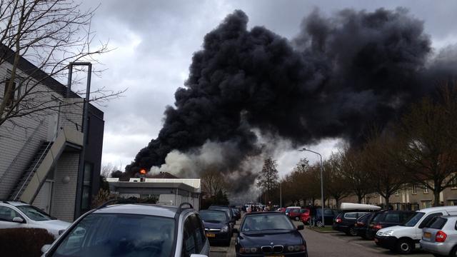 grote brand in kringloopwinkel almere | nu - het laatste nieuws het