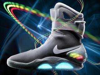 Schoenen met elektrische veters