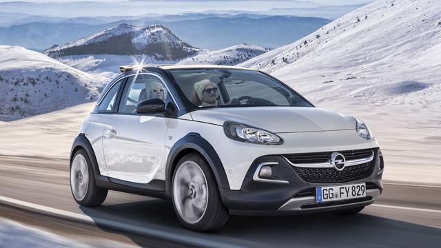Opel bepaalt prijzen Adam Rocks