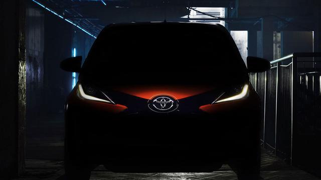 Foto's van nieuwe Toyota Aygo uitgelekt