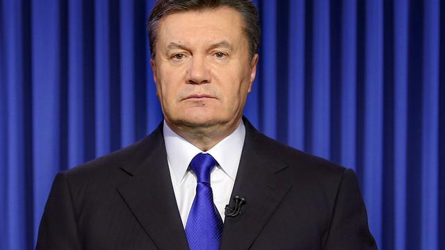 Parlement Oekraïne wil Janoekovitsj voor Strafhof