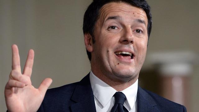 Renzi wil 3 tot 5 miljard bezuinigen
