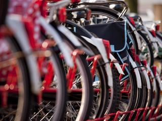 Gebruik van fietsen viel tegen