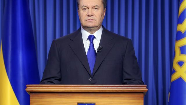 Janoekovitsj ook internationaal gezocht