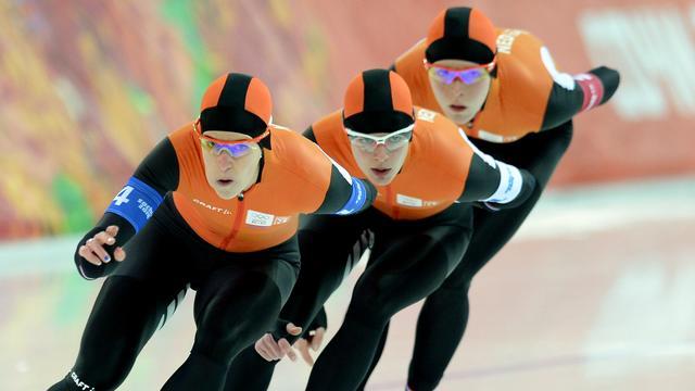 Ook goud Nederlandse vrouwen op ploegenachtervolging
