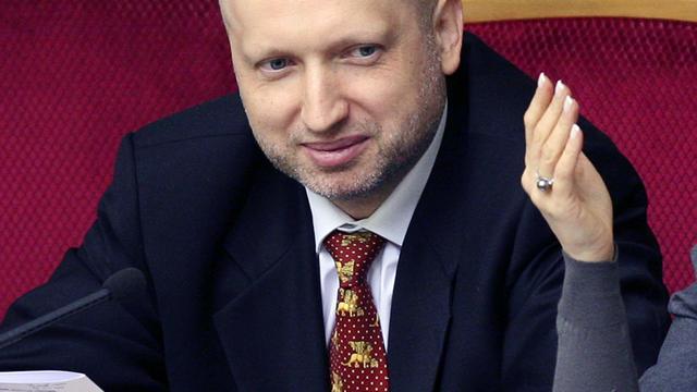 Voorzitter Oekraïens parlement verkozen tot interim-president