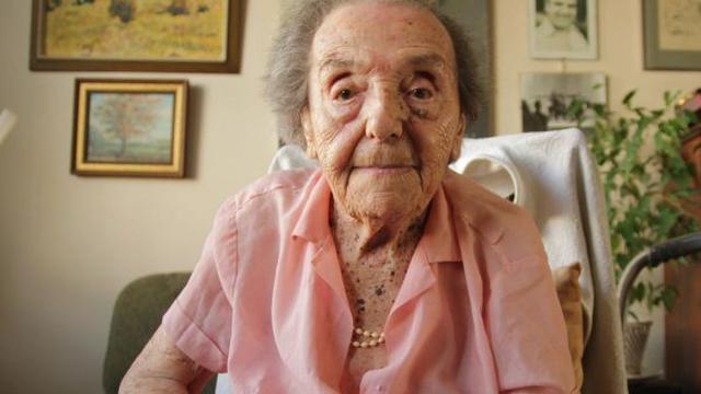 Oudste overlevende Holocaust overleden