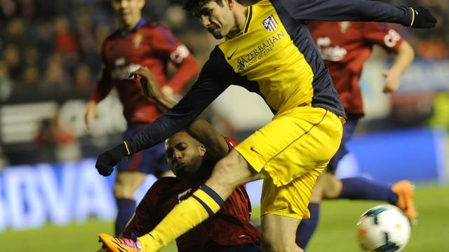 Atlético Madrid hard onderuit bij Osasuna
