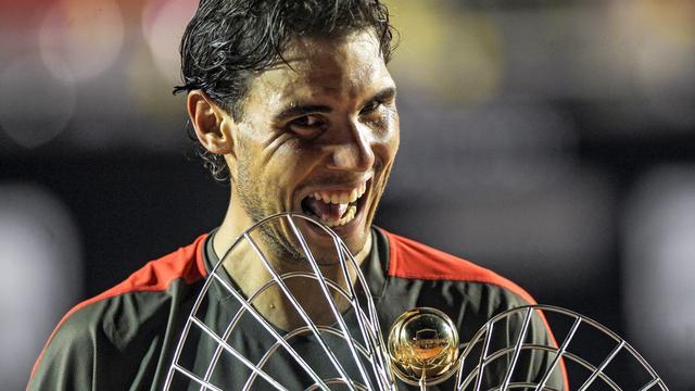 Nadal zegeviert in finale Rio de Janeiro