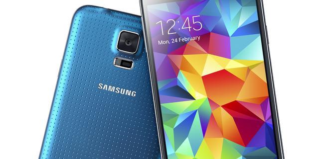 Samsung onthult waterdichte Galaxy S5