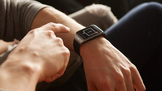 Samsung patenteert naar voren klappende smartwatch