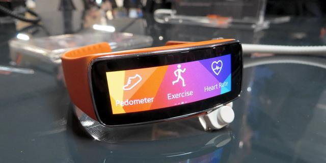 Hands-on: Samsung Gear Fit is opvallend en simpel