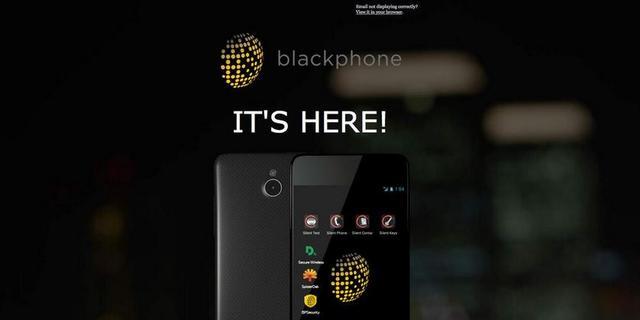 Beveiligde Blackphone gaat in de voorverkoop