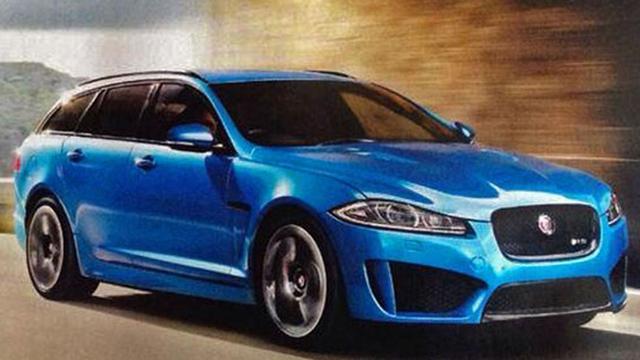 Jaguar brengt Sportbrake ook als XFR-S