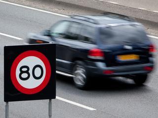 Maximumsnelheid blijft voorlopig 80 kilometer per uur
