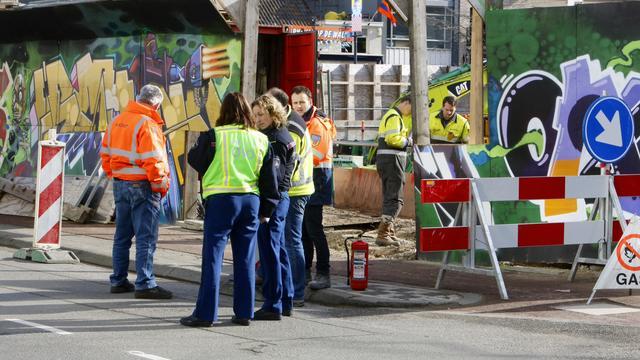 Uren hinder door gaslek in centrum Eindhoven