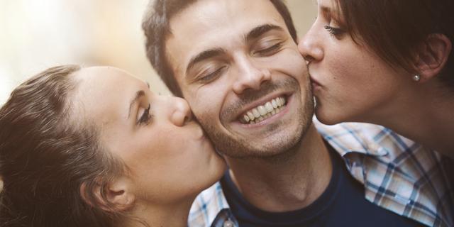 Nieuwe datingapp speciaal voor trio's
