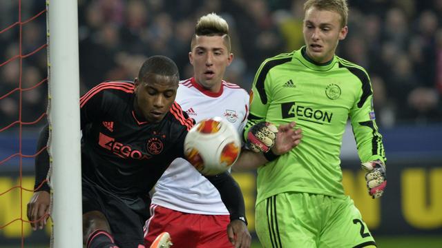 Ajax opnieuw pijnlijk onderuit tegen Salzburg