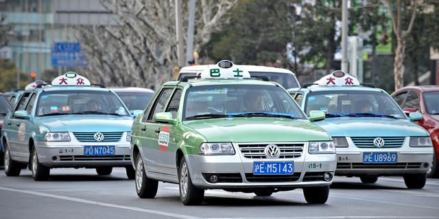 Taxi-apps verboden tijdens spits in Shanghai