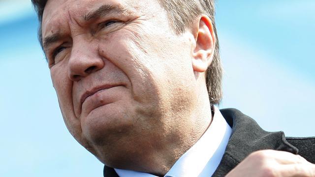 EU bevriest tegoeden Janoekovitsj