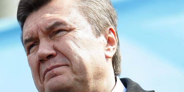 'Voortvluchtige ex-president Janoekovitsj is in Moskou'