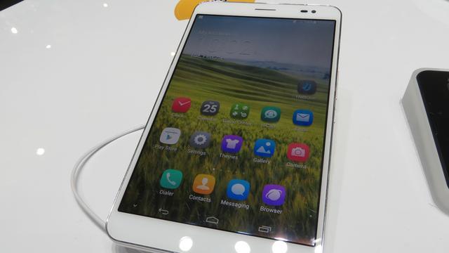 Hands-on: Compacte beltablet Huawei Mediapad X1