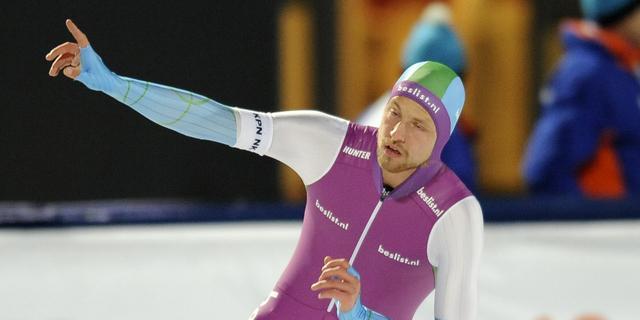 Michel Mulder en Boer aan kop na eerste dag NK sprint