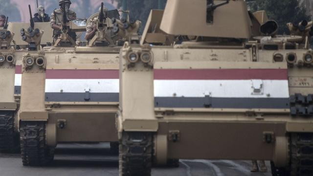 Grote actie Egyptisch leger in Sinaï