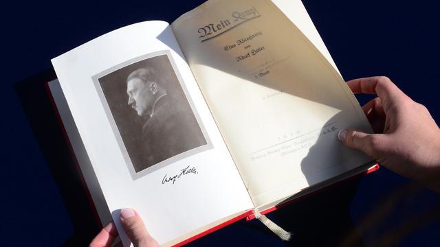 Amerikaanse Bijbelschool adverteert met Hitler-uitspraak