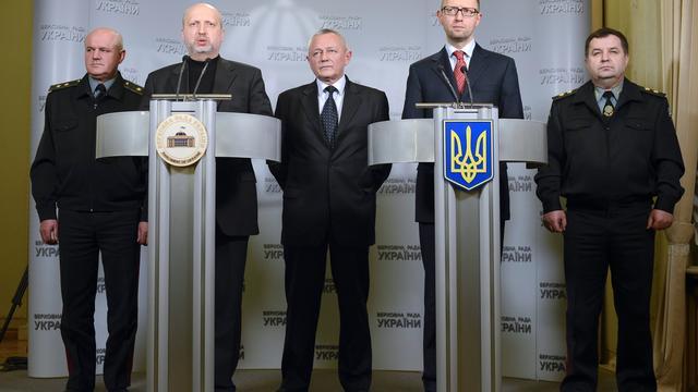 Oekraïne maakt troepen gevechtsklaar