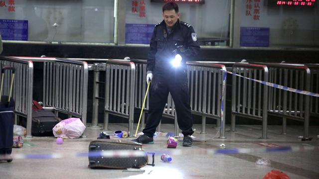34 doden na aanval op treinstation China