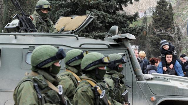 Poetin krijgt toestemming militaire actie Krim