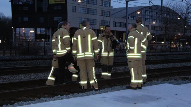 Waarschijnlijk zelfdoding op spoor Rotterdam